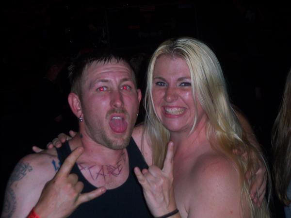 James X Rachel his Birthday 2009