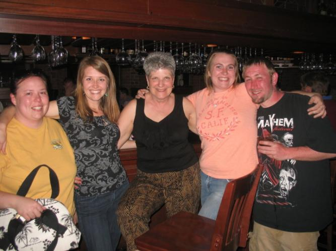 James and Rachel New Years
